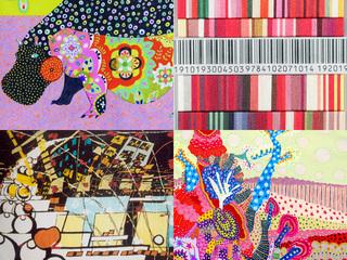 上海で展示中 Each Girl, Each Color 私のアートイベント報告, アート ART Hidemi Shimura