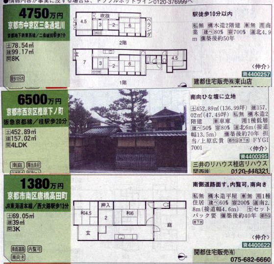 京の町屋はいりませんかー? 建築 Hidemi Shimura