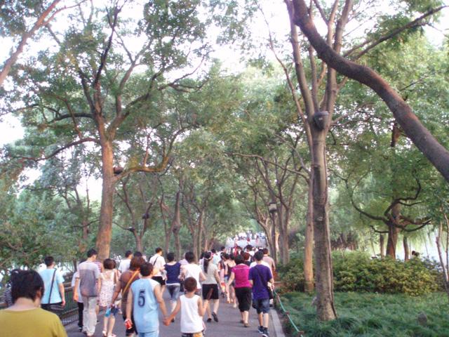 杭州-西湖南側 Hangzhou-South Side of West Lake 杭州 Hangzhou Hidemi Shimura